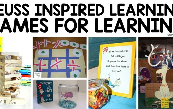 Fun Dr. Seuss Games for Learning