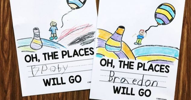 Oh, The Places You'll Go Printable