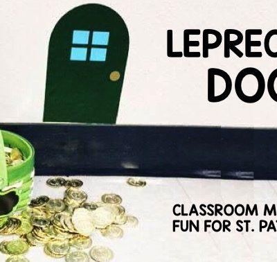 Lucky Leprechaun Door