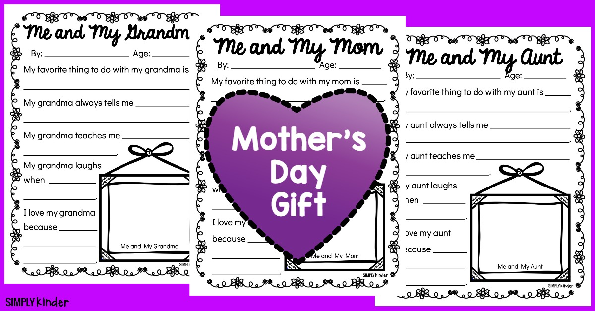 Mother's Day Questionnaires