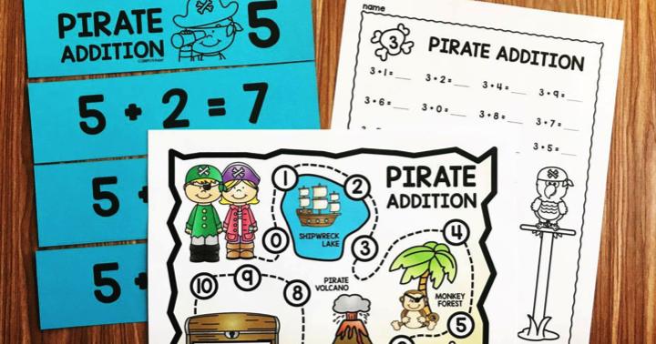 Kindergarten Math Facts