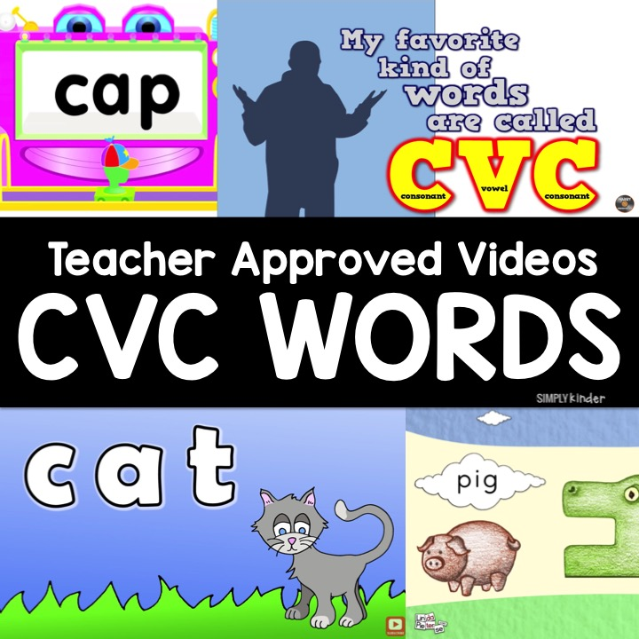 Are you looking for videos About Decoding CVC Words? Here is our teacher-approved list of decoding videos from Simply Kinder!