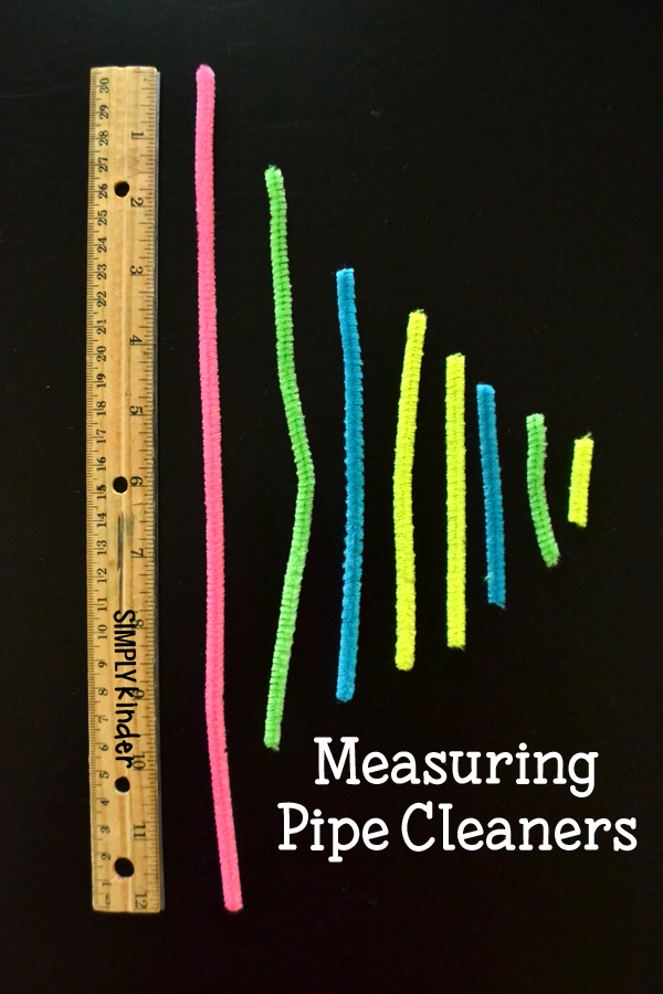 Measuring Pipe Cleaners