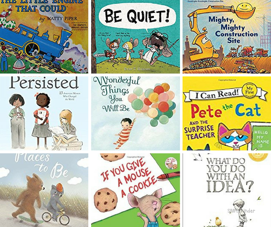 50 Must-Have Books for the Kindergarten Classroom: 20 New + 30 Tried and True