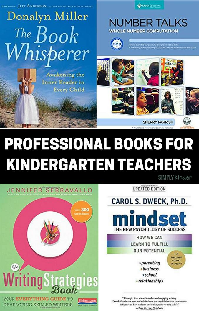 PROFESSIONAL BOOKS FOR KINDERGARTEN, PRESCHOOL, AND FIRST GRADE TEACHERS.