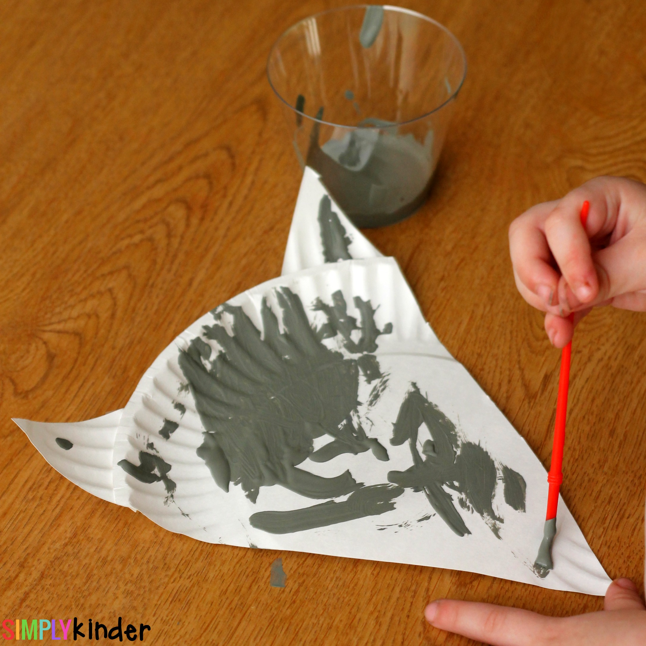 chester the raccoon paper plate craft simply kinder