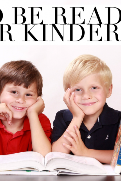 Dear Parents…How to Get Your Kindergartener Ready