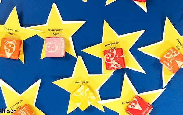 Back to School Kindergarten Star Classroom Printable