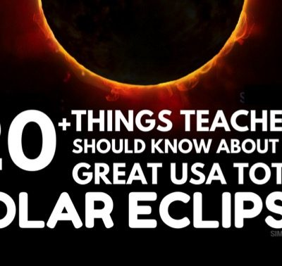 Total Eclipse Information for Teachers