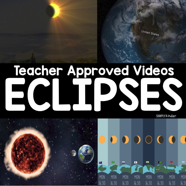 A collection of Eclipse Videos for kids from Simply Kinder