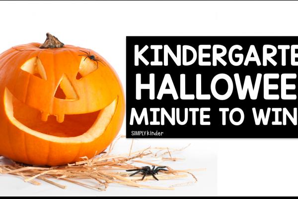 Kindergarten Halloween Minute To Win It