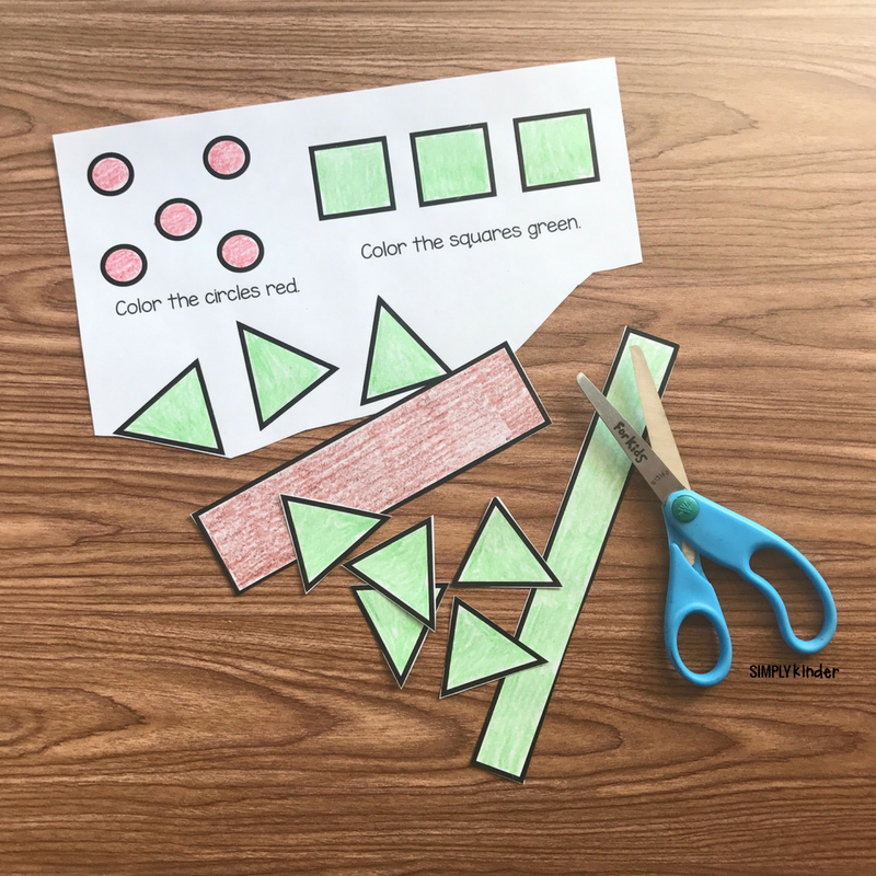 Free Printable 2D Shape Tree