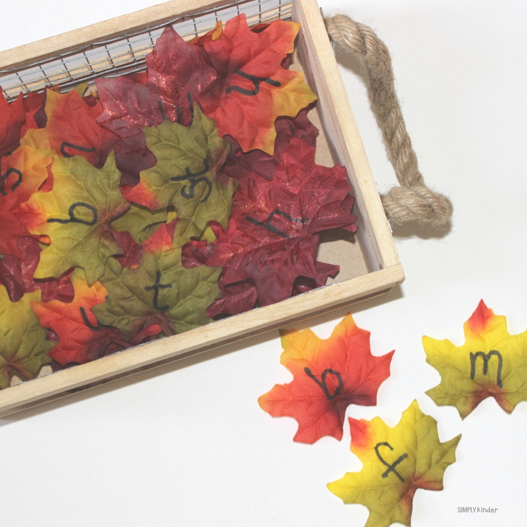 Fall Leaves Word Family Activity + Free Printable