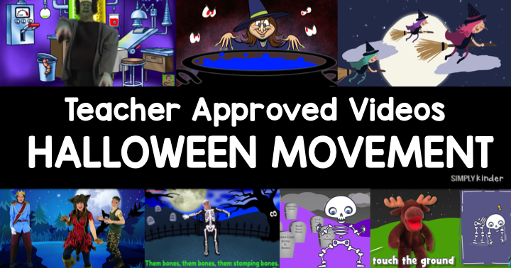 Halloween Teacher Approved Videos – Songs for Movement