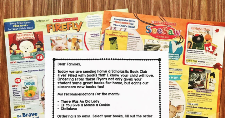 Free Book Club Letter
