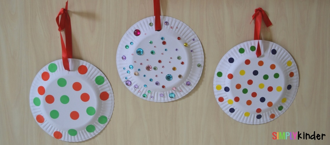 Paper Plate Christmas Ornaments