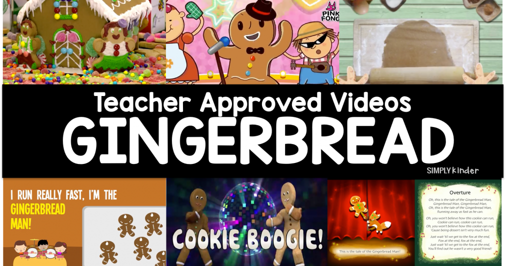 Teacher Approved Videos Gingerbread