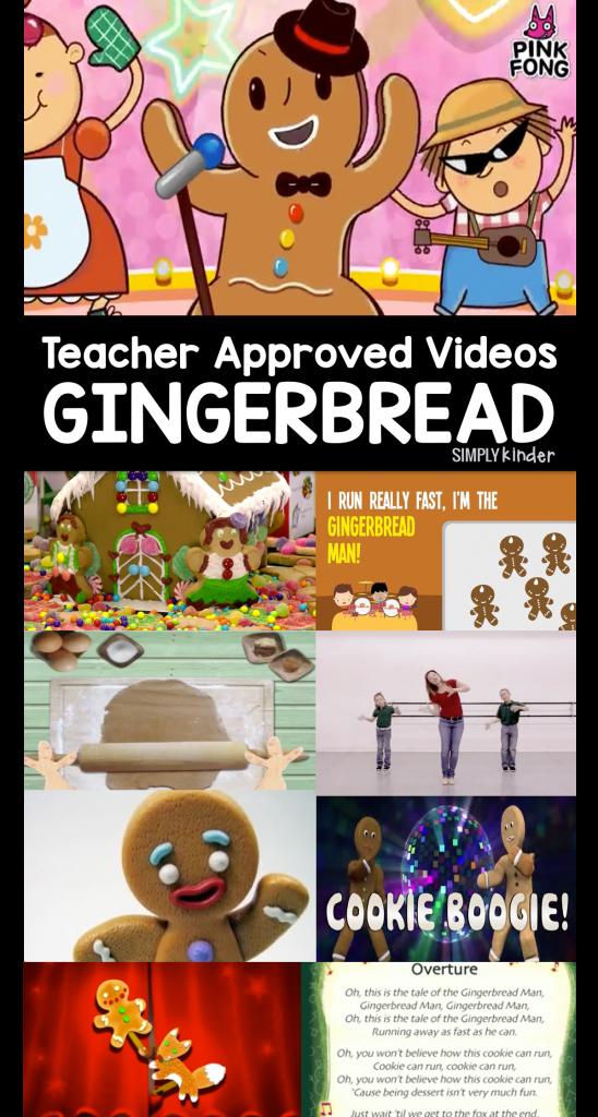 Gingerbread Videos for Teachers