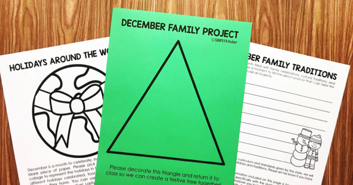Free December Family Flyers