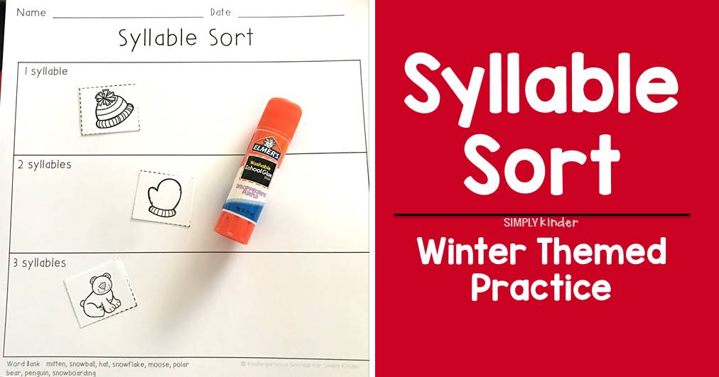 Syllable Sort – Free