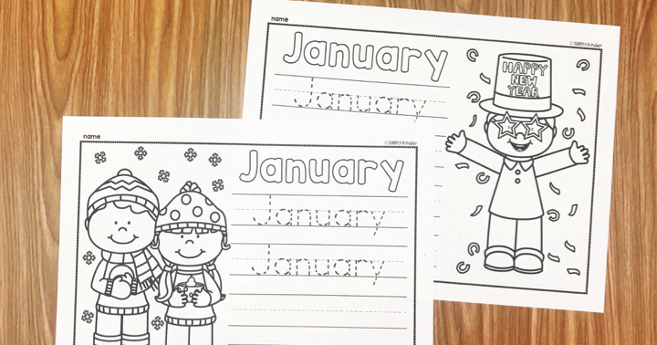 January Writing Printables