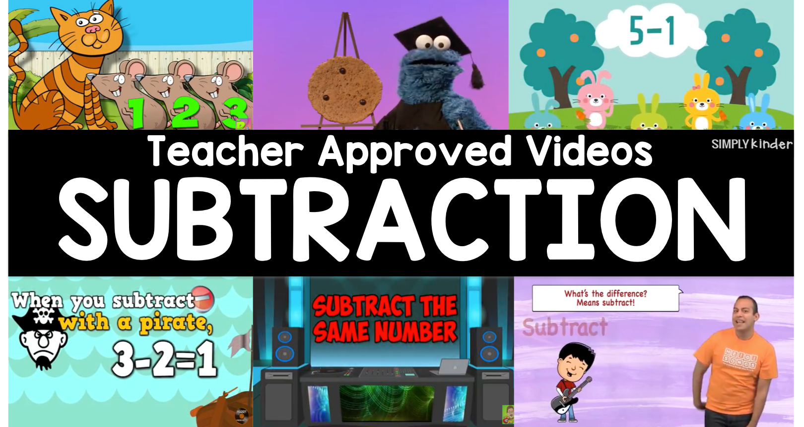 Teacher Approved Subtraction Videos