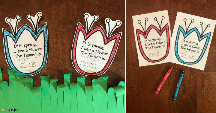 Spring Flowers Writing Activity