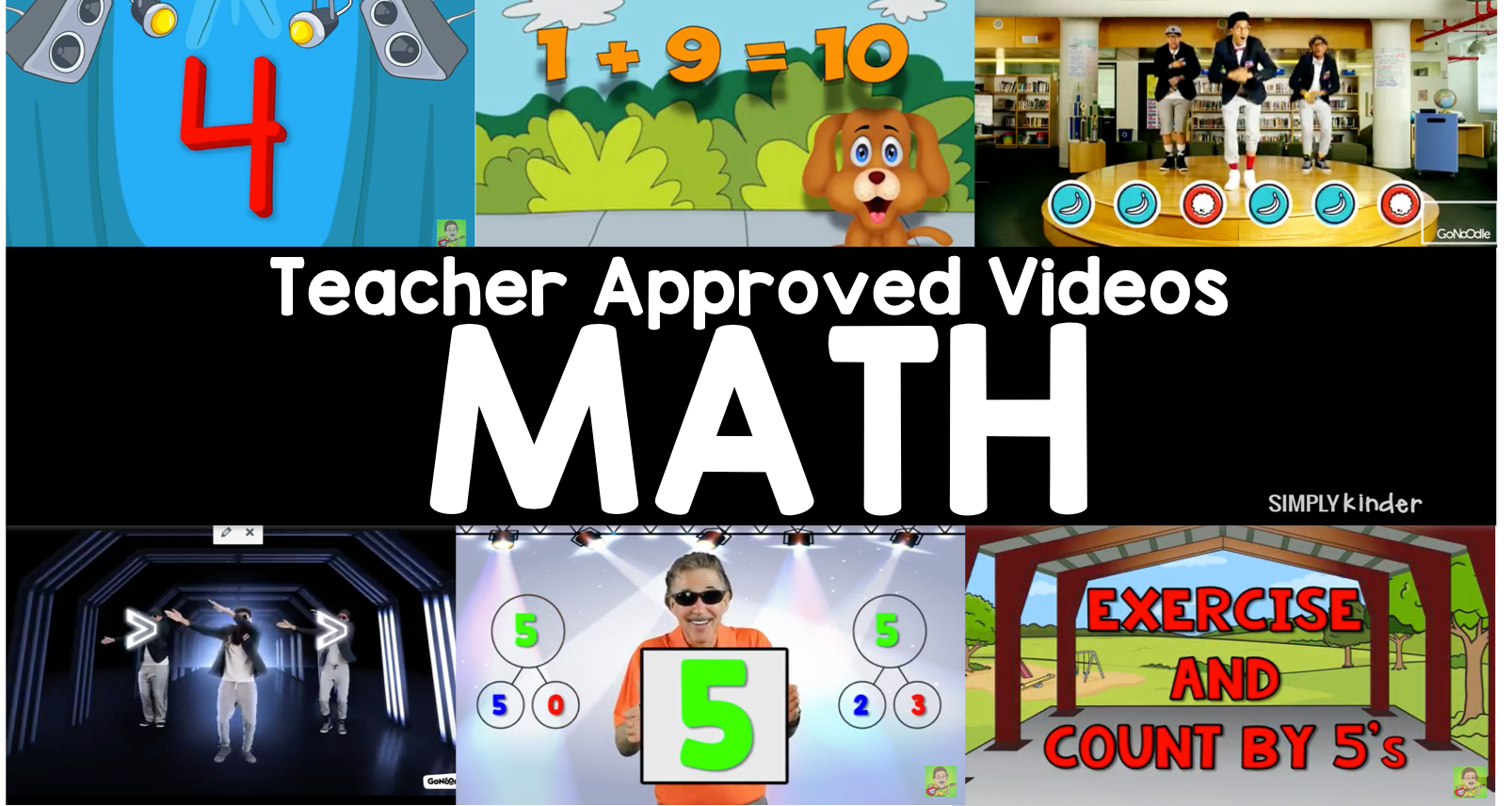 Teacher Approved Math Videos