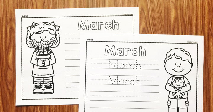 Free March Printable