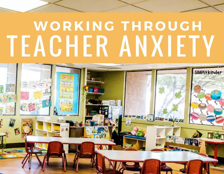 Working through teacher anxiety.