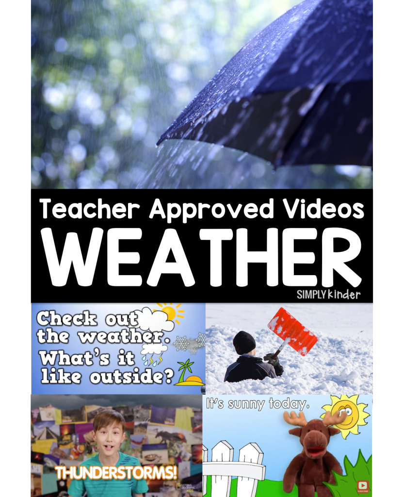 Teacher Approved Weather Videos