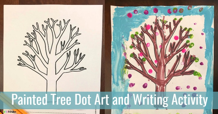 Dotted Tree Art Learning Activity