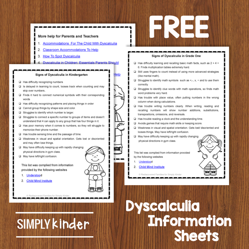 Signs And Symptoms of Dyscalculia