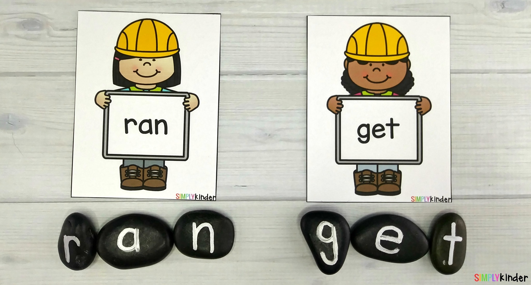 Sight Word Builders and Rocks