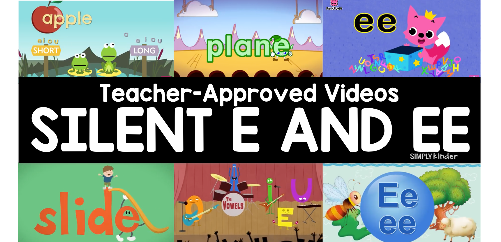 Teacher-Approved Silent E and Double E Videos