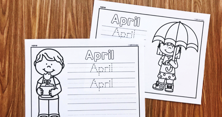 Free April Printable