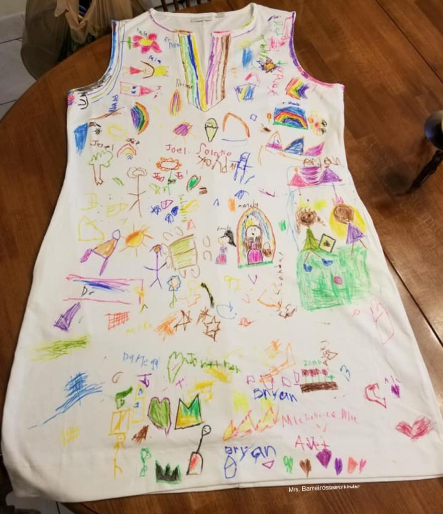 Student Drawn Dress