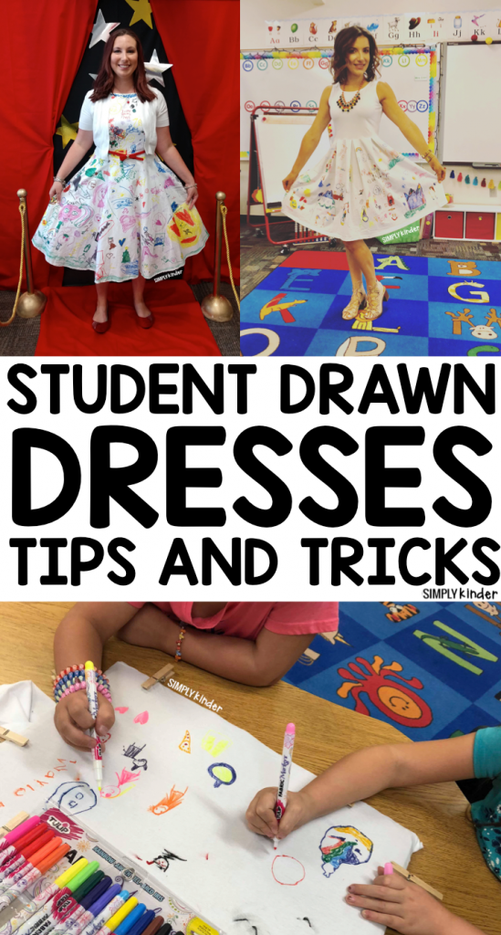 Student Drawn Dresses Tips and Tricks