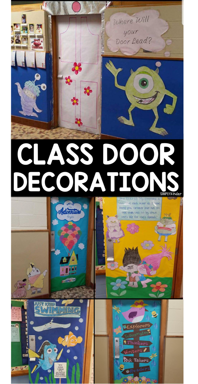 Class Door Decorations Simply Kinder