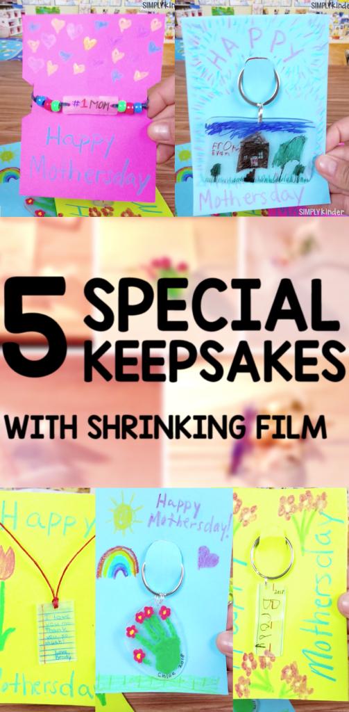 Five Shrinky Dinks Keychain Projects