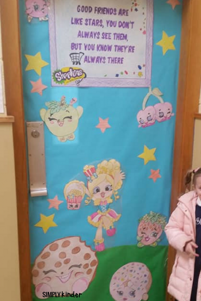 Shopkins door
