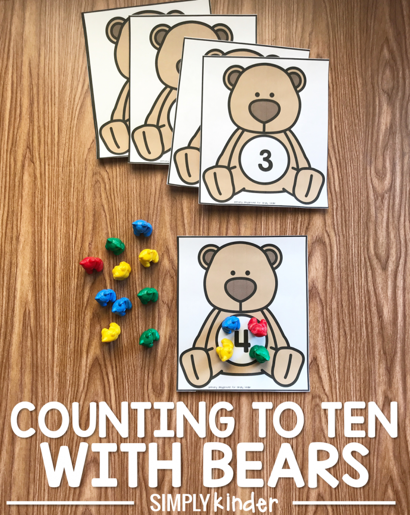 Counting To Ten With Bears