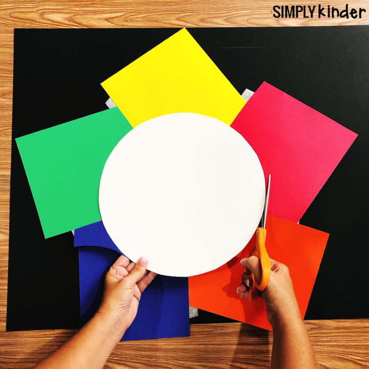 How to make a centers wheel. Use the centers wheel to help manage and organize your centers.