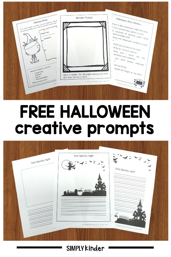Halloween Creative Prompts For Young Learners