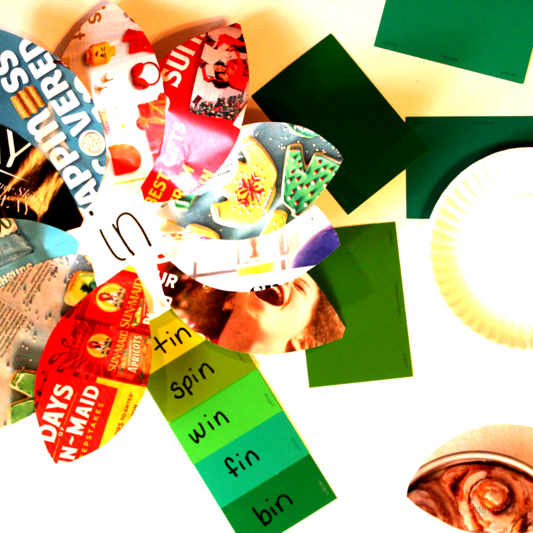Recycling and Word Family Craft