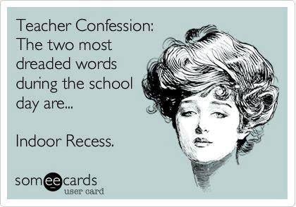 Indoor Recess Ideas for Kindergarten Teachers from Simply Kinder.