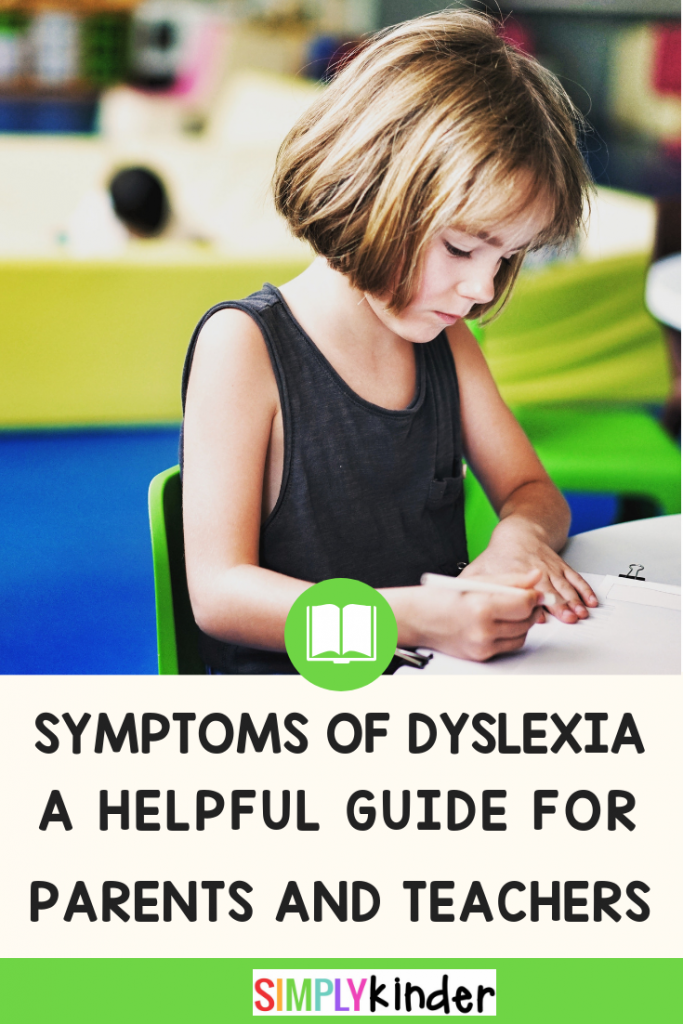 """Lots of children find reading hard at first, but some never seem to progress. Do you have a student whose difficulties persist despite lots of extra attention? They may have the reading learning disorder Dyslexia. Review the warning signs and get helpful tips and strategies to help your students after diagnosis. Includes free printable information sheets. #dyslexia #learningdisability #strugglingreader"""""""