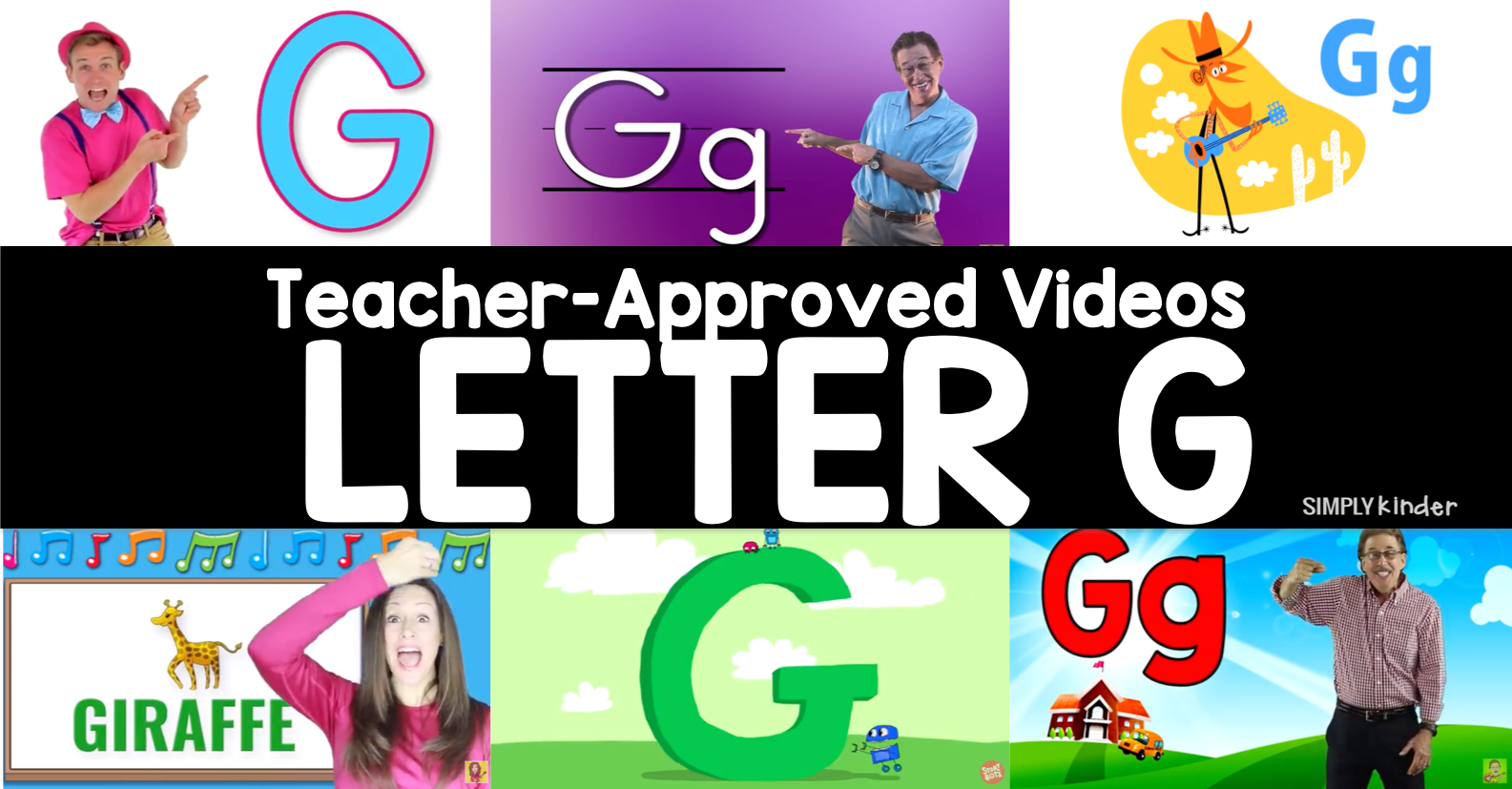 Teacher-Approved Videos Letter G