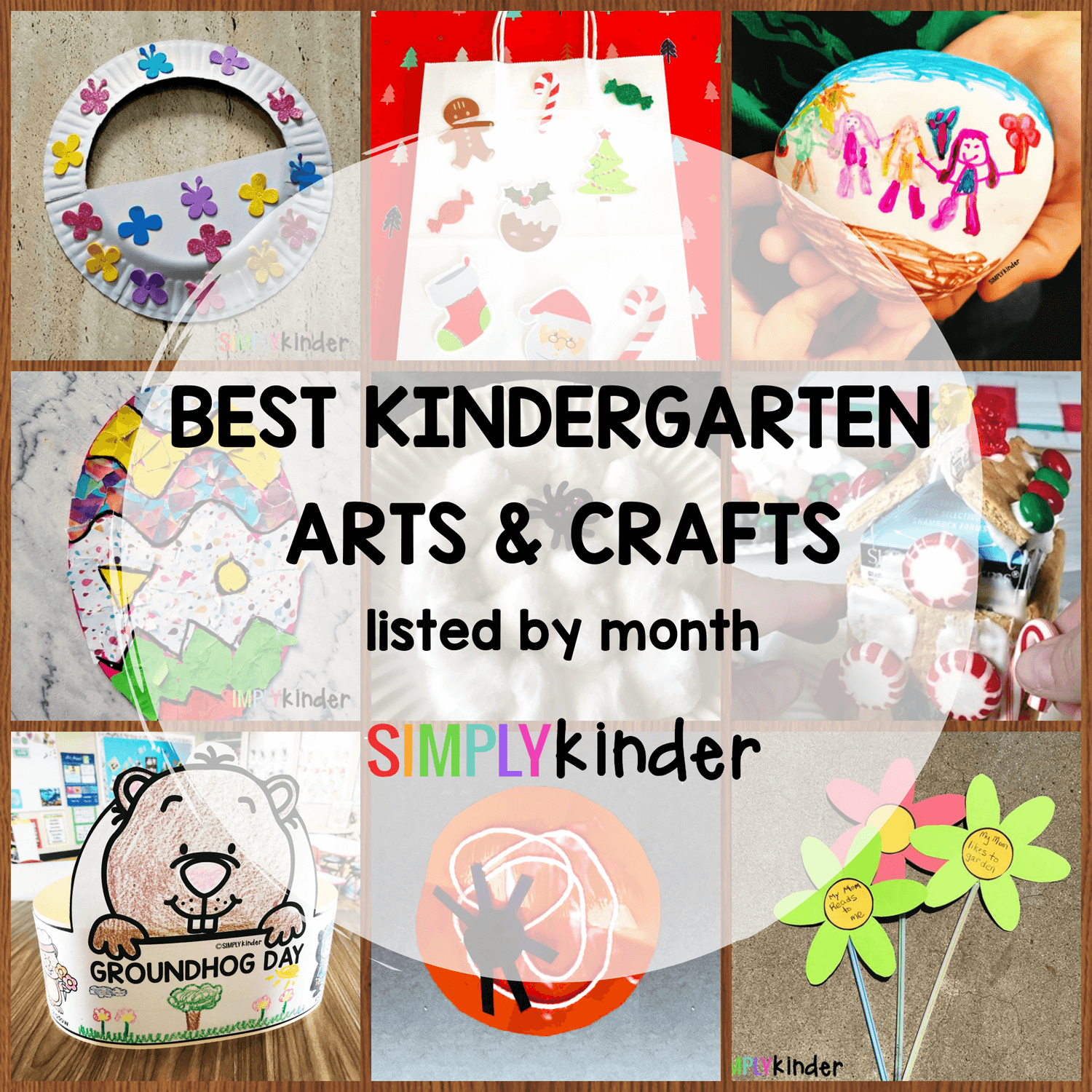 The Best Kindergarten Crafts To Make Through the Year