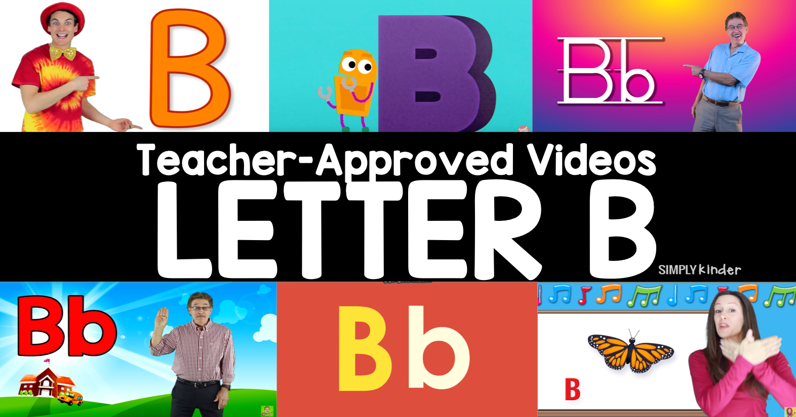 Teacher-Approved Videos Letter B